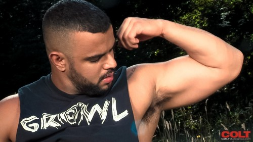 flexing-biceps-hairy-armpit-muscle