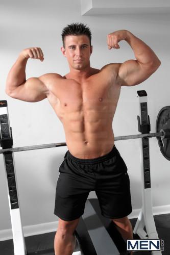 muscle-flexing